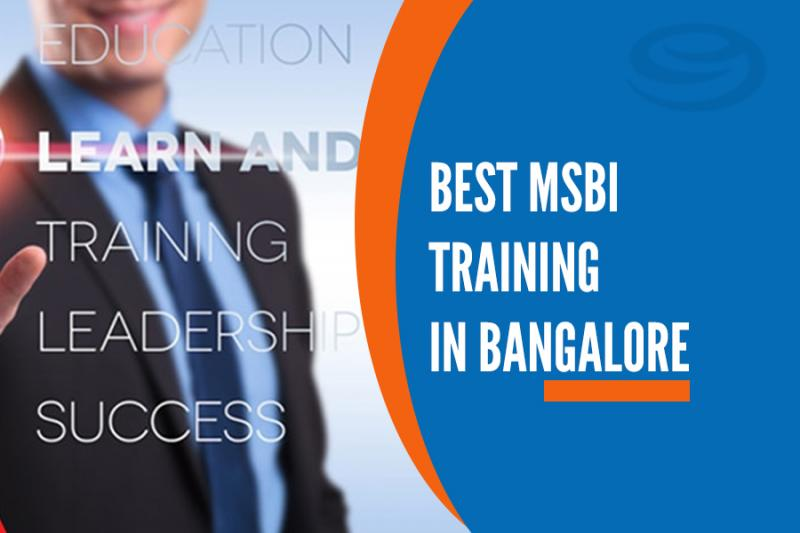 about msbi training in bangalore