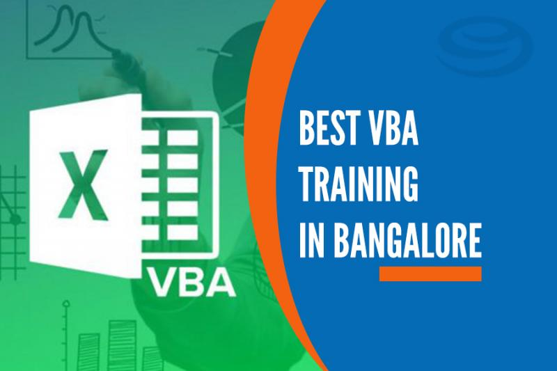 Best VBA Training in Marathahalli, Bangalore